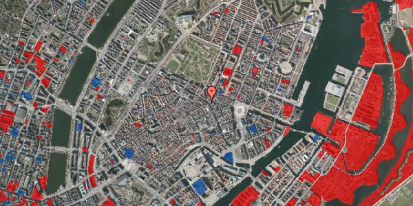 Jordforureningskort på Gammel Mønt 19, 1. , 1117 København K