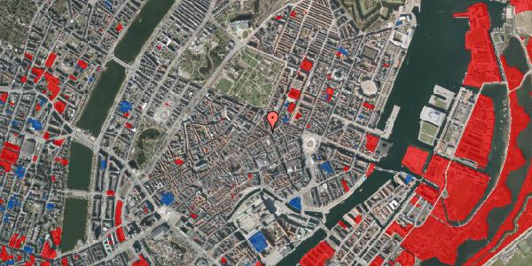 Jordforureningskort på Gammel Mønt 21, 1. , 1117 København K