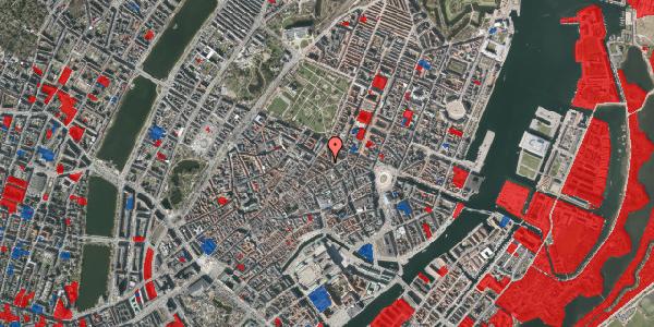 Jordforureningskort på Gammel Mønt 27, 1. , 1117 København K