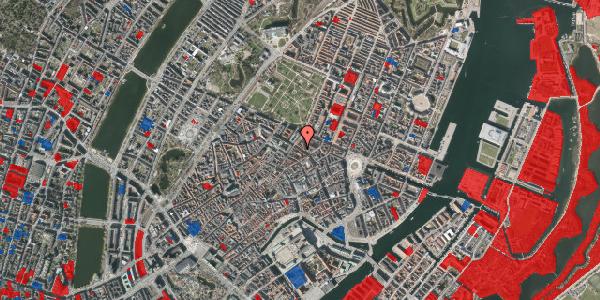 Jordforureningskort på Gammel Mønt 33, 1. , 1117 København K