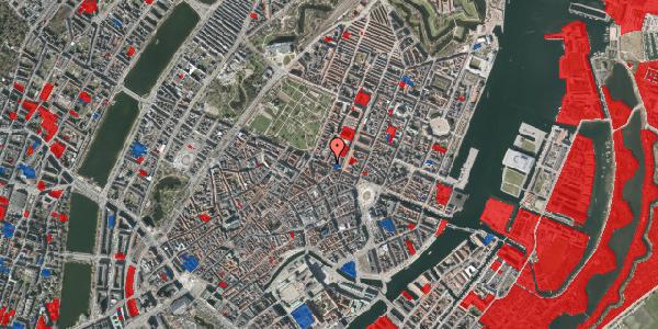 Jordforureningskort på Gothersgade 42, 3. tv, 1123 København K