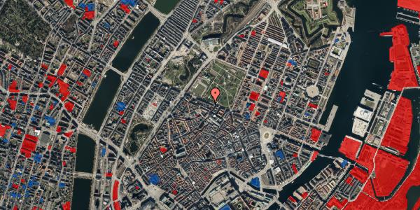 Jordforureningskort på Gothersgade 91, kl. 1, 1123 København K