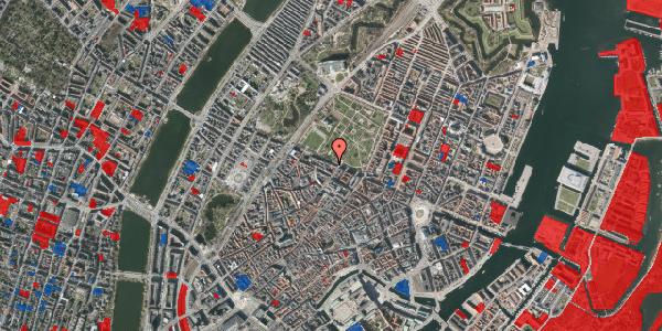 Jordforureningskort på Gothersgade 91, 1. tv, 1123 København K