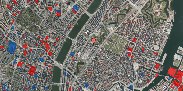 Jordforureningskort på Gothersgade 141, 4. 409, 1123 København K