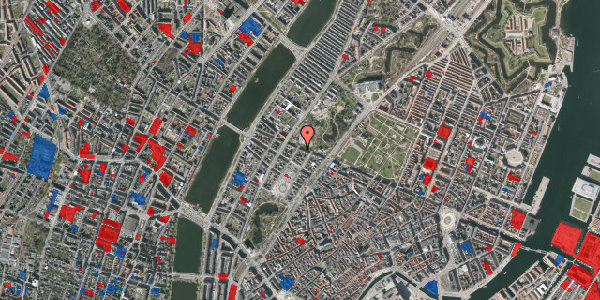 Jordforureningskort på Gothersgade 143, st. th, 1123 København K