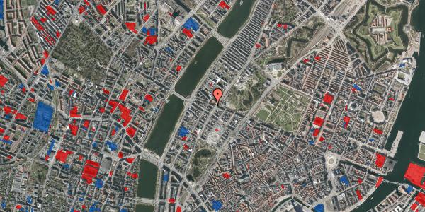 Jordforureningskort på Gothersgade 155, 1. th, 1123 København K