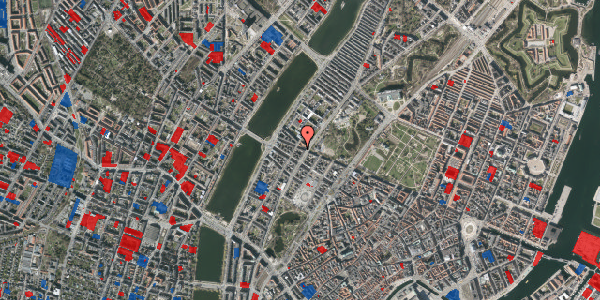 Jordforureningskort på Gothersgade 157, 4. th, 1123 København K