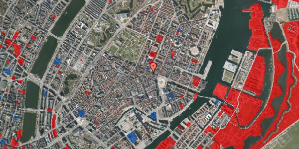 Jordforureningskort på Grønnegade 36, 1. tv, 1107 København K