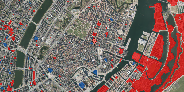 Jordforureningskort på Grønnegade 41, 1. , 1107 København K