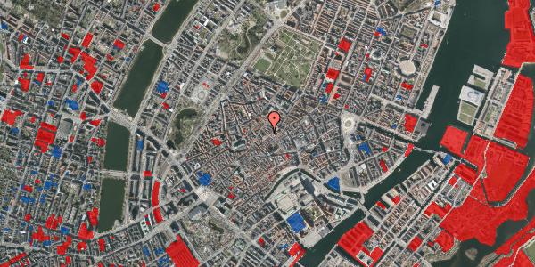 Jordforureningskort på Gråbrødretorv 4, kl. th, 1154 København K