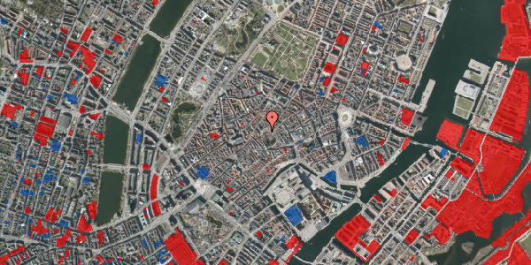 Jordforureningskort på Gråbrødretorv 5, 1. th, 1154 København K