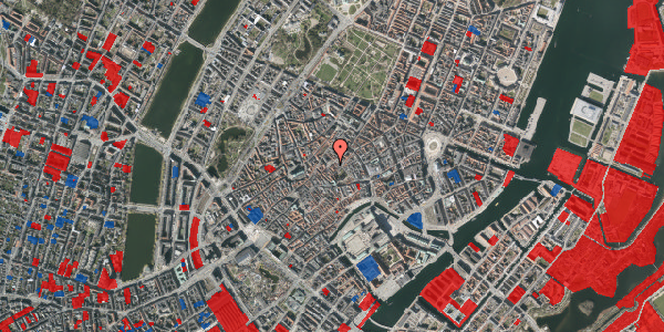Jordforureningskort på Gråbrødretorv 9, 2. th, 1154 København K