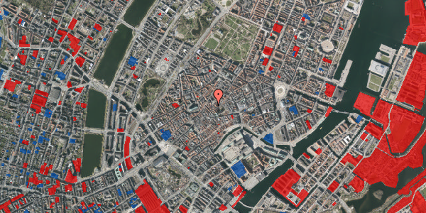 Jordforureningskort på Gråbrødretorv 15, 1. tv, 1154 København K