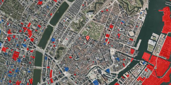 Jordforureningskort på Hauser Plads 16B, 3. th, 1127 København K