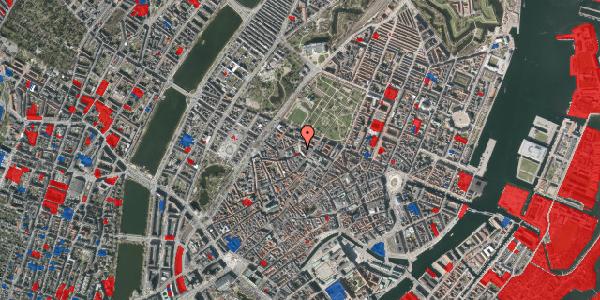 Jordforureningskort på Hauser Plads 16B, 4. , 1127 København K