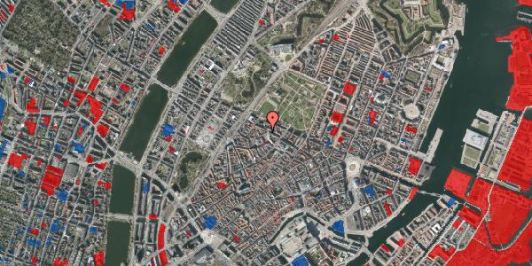 Jordforureningskort på Hauser Plads 24, 1. tv, 1127 København K