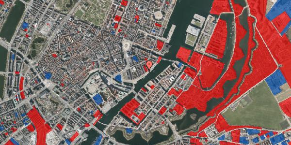 Jordforureningskort på Havnegade 35, 3. tv, 1058 København K