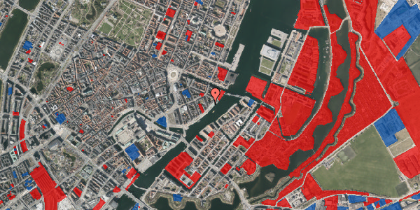 Jordforureningskort på Havnegade 43, 1. th, 1058 København K