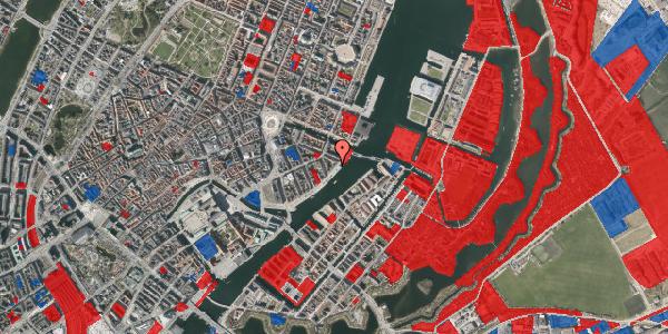 Jordforureningskort på Havnegade 47A, 3. , 1058 København K