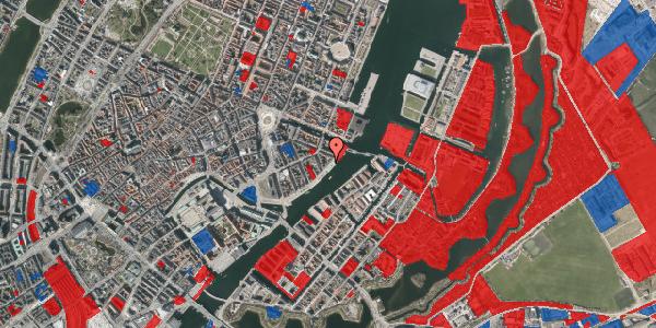 Jordforureningskort på Havnegade 47, 3. tv, 1058 København K