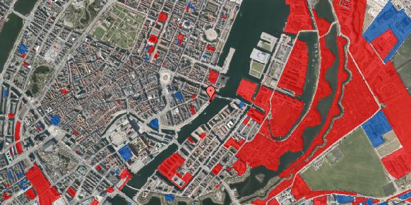 Jordforureningskort på Havnegade 49, 1. tv, 1058 København K