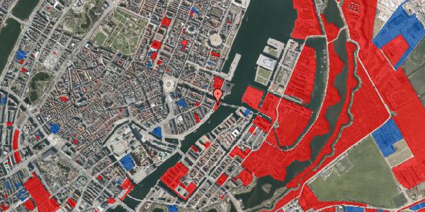 Jordforureningskort på Havnegade 51, 1. th, 1058 København K