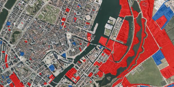 Jordforureningskort på Havnegade 53B, 3. tv, 1058 København K