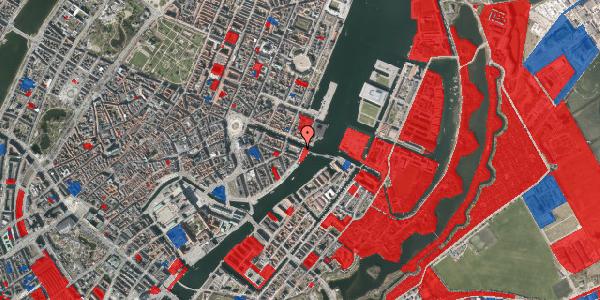 Jordforureningskort på Havnegade 55, 3. tv, 1058 København K