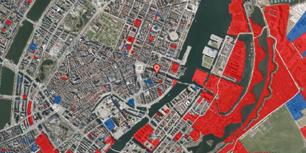 Jordforureningskort på Heibergsgade 14, 3. th, 1056 København K