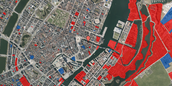 Jordforureningskort på Heibergsgade 16, 1. th, 1056 København K