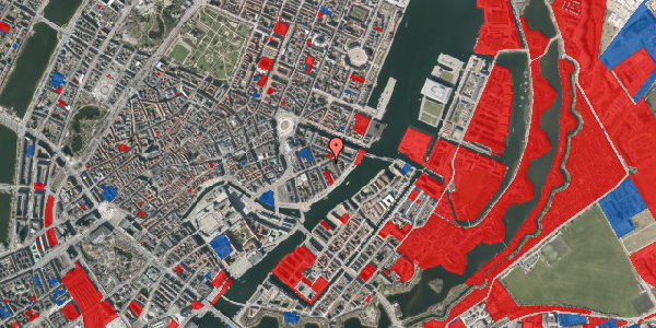 Jordforureningskort på Holbergsgade 20, 3. th, 1057 København K