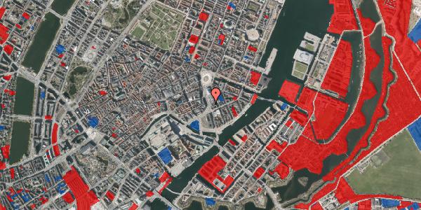 Jordforureningskort på Holmens Kanal 7, 4. 3, 1060 København K