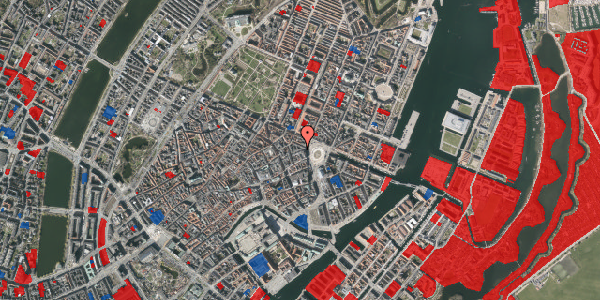Jordforureningskort på Hovedvagtsgade 4, 2. , 1103 København K