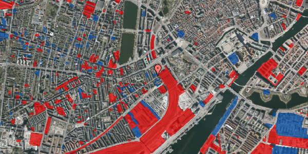 Jordforureningskort på Istedgade 8A, 1650 København V