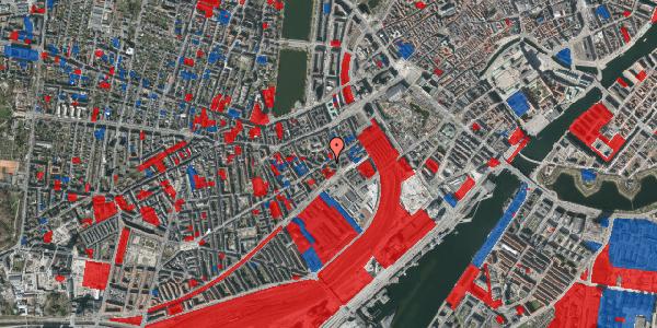 Jordforureningskort på Istedgade 15, kl. th, 1650 København V
