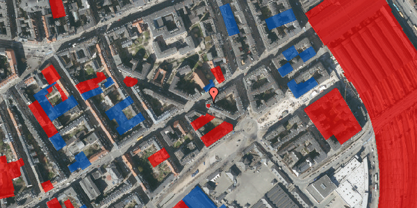 Jordforureningskort på Istedgade 17, 5. tv, 1650 København V