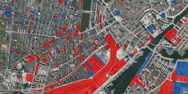 Jordforureningskort på Istedgade 19, 2. tv, 1650 København V