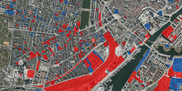 Jordforureningskort på Istedgade 23, 4. tv, 1650 København V