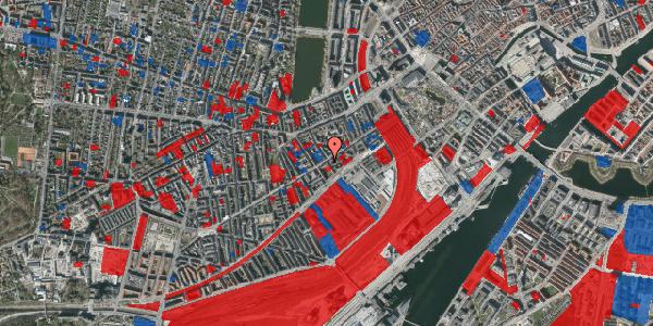 Jordforureningskort på Istedgade 25, 4. tv, 1650 København V