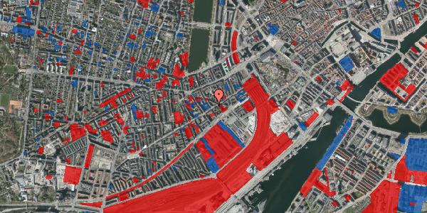 Jordforureningskort på Istedgade 30B, 1. tv, 1650 København V