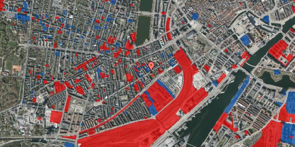 Jordforureningskort på Istedgade 38, 4. tv, 1650 København V
