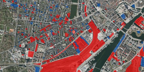 Jordforureningskort på Istedgade 39, 5. , 1650 København V