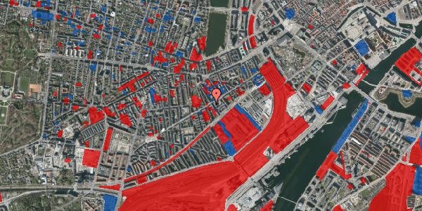 Jordforureningskort på Istedgade 41, 3. tv, 1650 København V