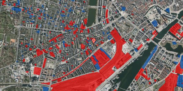Jordforureningskort på Istedgade 42A, 4. tv, 1650 København V