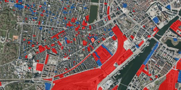Jordforureningskort på Istedgade 43B, 1. tv, 1650 København V