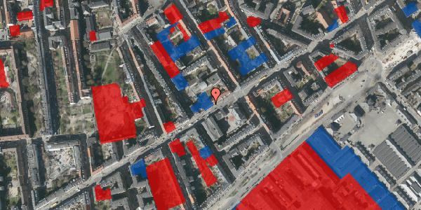 Jordforureningskort på Istedgade 44, 3. , 1650 København V