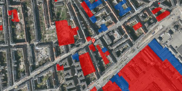 Jordforureningskort på Istedgade 45, 3. tv, 1650 København V