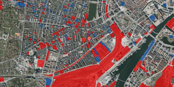 Jordforureningskort på Istedgade 51A, 1650 København V