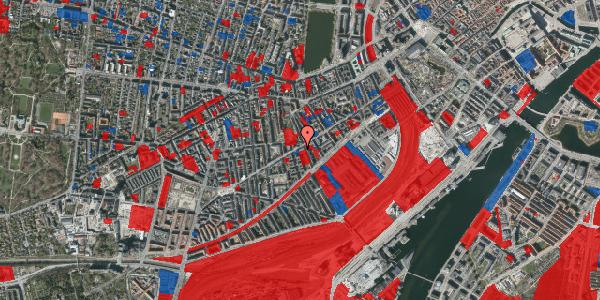 Jordforureningskort på Istedgade 51B, 1. tv, 1650 København V