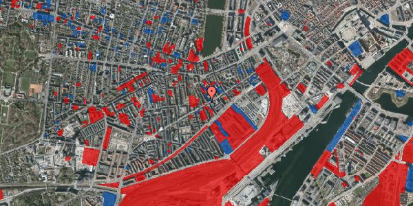 Jordforureningskort på Istedgade 54, 1. tv, 1650 København V